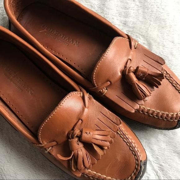 ab73af9c113 Cole Haan Shoes - Cole Haan Hudson Kiltie Tassel Driving Loafers